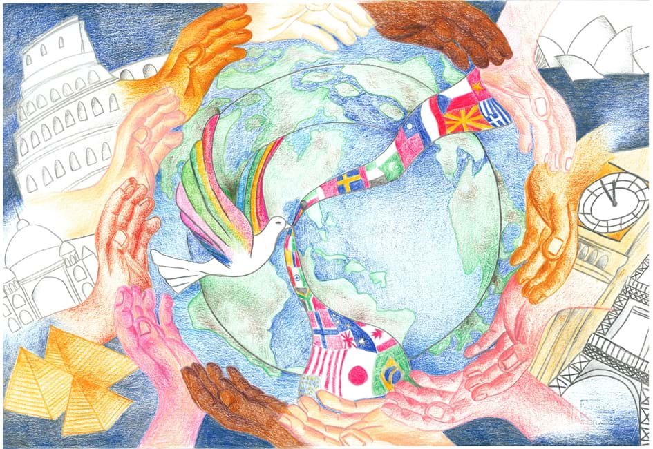 Risultati immagini per un poster per la pace
